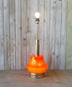 Retro French table lamp - SOLD